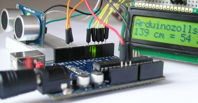Arduino als zollstock
